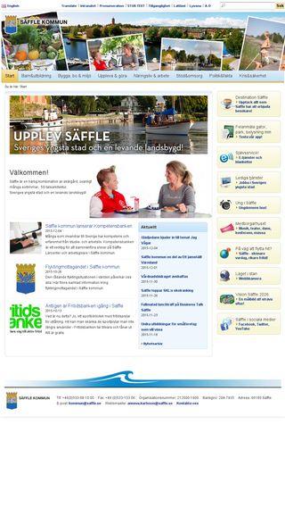 Mobile preview of saffle.episerverhosting.com