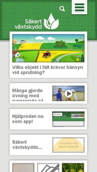 Mobile preview of sakertvaxtskydd.se