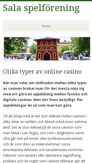 Mobile preview of salasf.se
