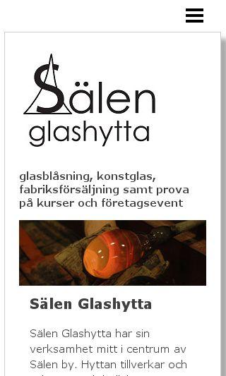 Mobile preview of salenglashytta.se