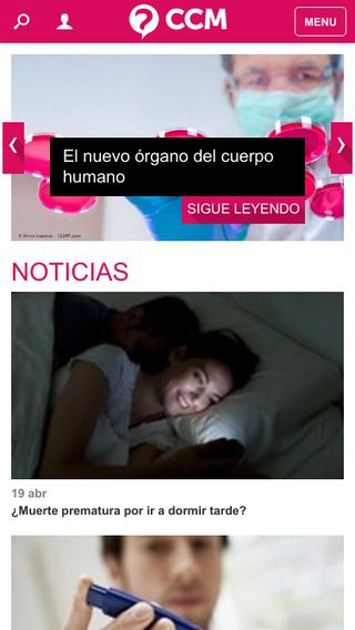 Mobile preview of salud.ccm.net