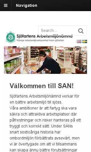 Mobile preview of san-nytt.se