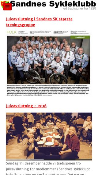 Mobile preview of sandnes-sykleklubb.no