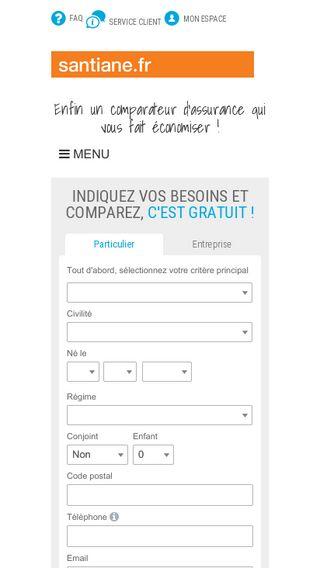 Mobile preview of avis-santiane.fr
