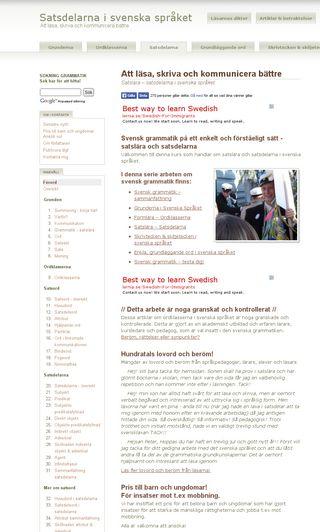 Mobile preview of satsdelar.se