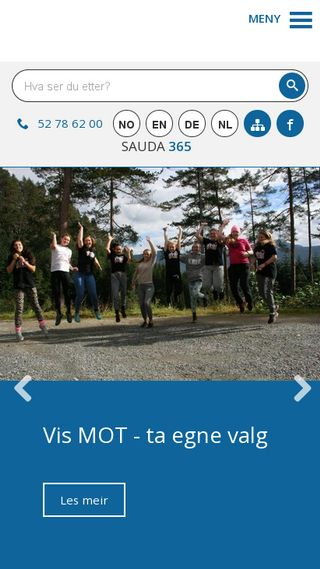 Mobile preview of sauda.kommune.no