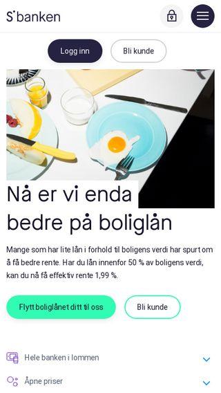 Mobile preview of sbanken.no
