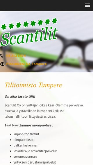 Mobile preview of scantilit.fi