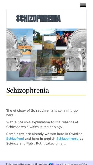 Mobile preview of schizophrenia.n.nu