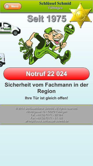 Mobile preview of schluessel-schmid.de