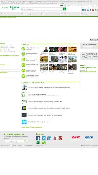 Mobile preview of schneider-electric.no