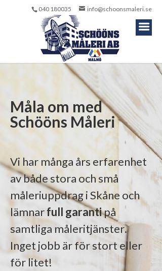 Mobile preview of schoonsmaleri.se