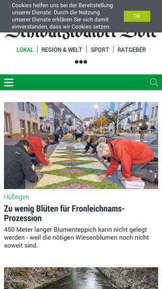 Mobile preview of schwarzwaelder-bote.de