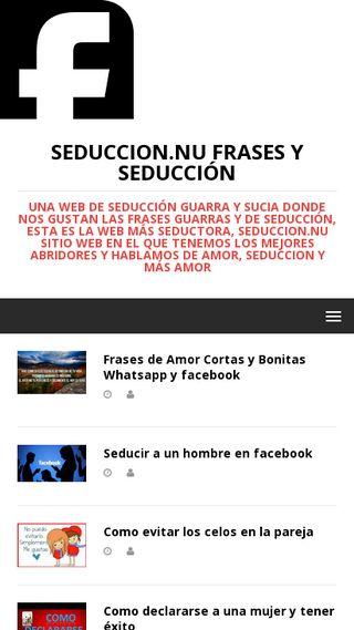 Mobile preview of seduccion.nu