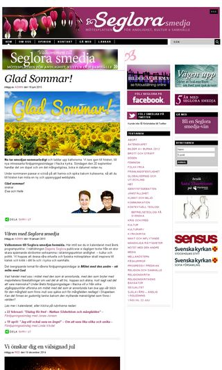 Mobile preview of seglorasmedja.se
