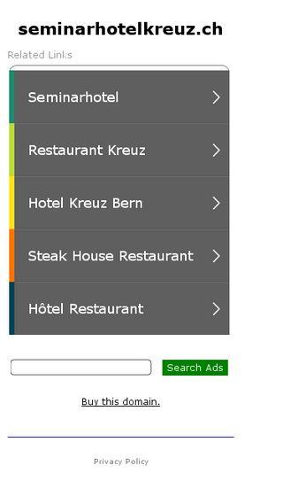 Mobile preview of seminarhotelkreuz.ch
