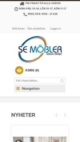 Mobile preview of semobler.se