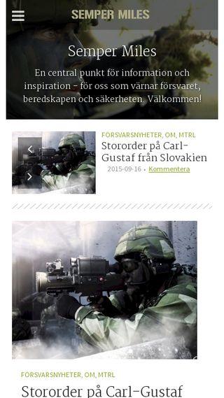 Mobile preview of sempermiles.se