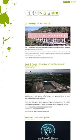 Mobile preview of seo-entertainment.de