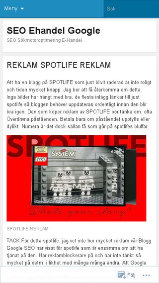Mobile preview of seoehandel.wordpress.com