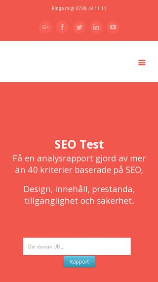 Mobile preview of seovision.se