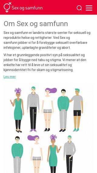 Mobile preview of sexogsamfunn.no