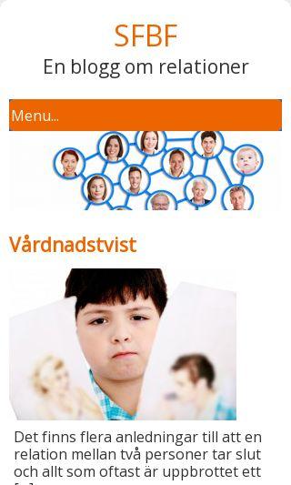 Mobile preview of sfbf.se