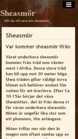 Mobile preview of sheasmor.n.nu
