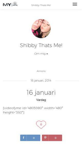 Mobile preview of shibby.myshowroom.se