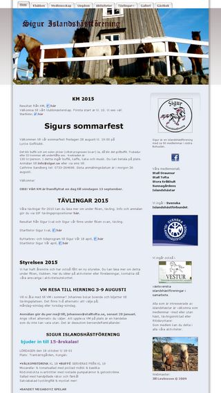 Mobile preview of sigur.se
