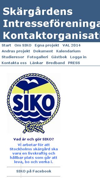 Mobile preview of siko.org.se