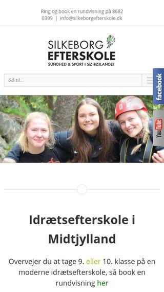 Mobile preview of silkeborgefterskole.dk
