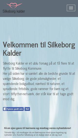 Mobile preview of silkeborgkalder.dk