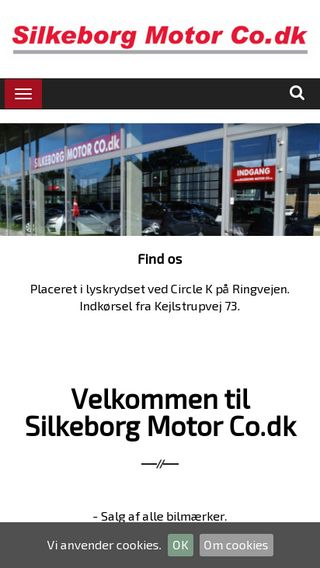Mobile preview of silkeborgmotorco.dk