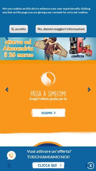 Mobile preview of simecom.eu
