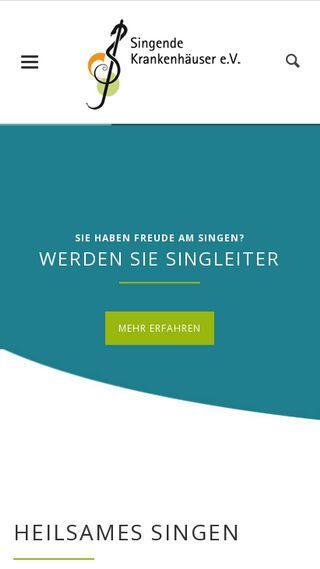 Mobile preview of singende-krankenhaeuser.de