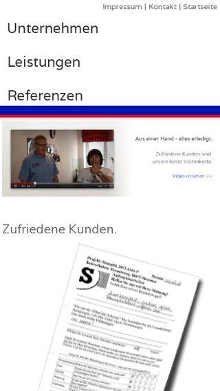 Mobile preview of singoldbau.de