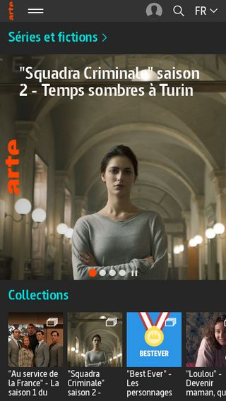 Mobile preview of sites.arte.tv