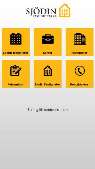 Mobile preview of sjodinfastigheter.se