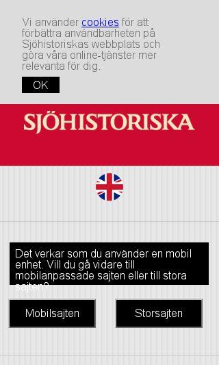 Mobile preview of sjohistoriska.se