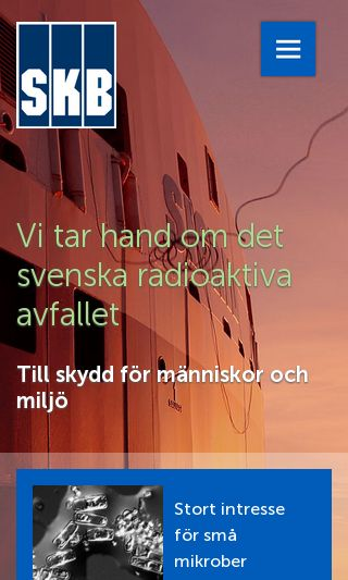 Mobile preview of skb.se