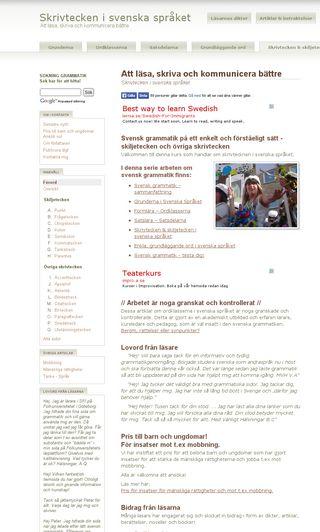 Mobile preview of skiljetecken.se
