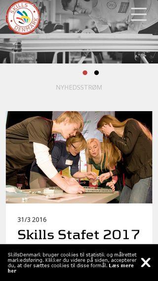 Mobile preview of skillsdenmark.dk
