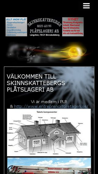 Mobile preview of skinnskattebergsplatslageriab.n.nu