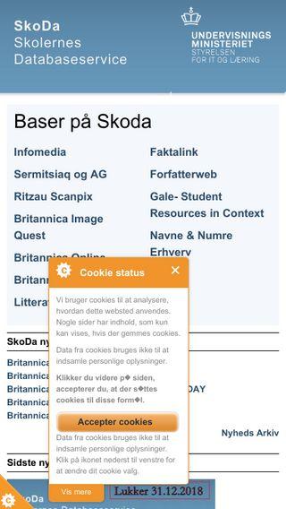 Mobile preview of skoda.emu.dk