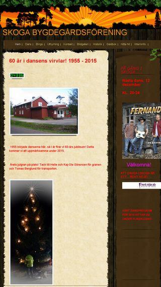 Mobile preview of skogabygdegardsforening.n.nu