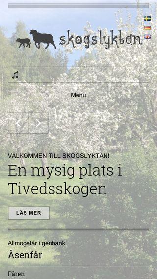 Mobile preview of skogslyktan.se