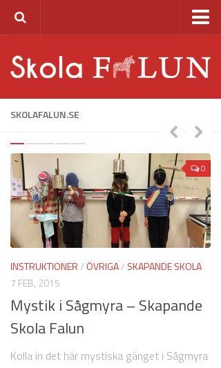 Mobile preview of skolafalun.se