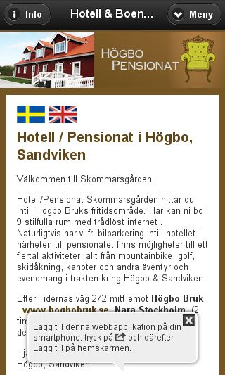 Mobile preview of skommarsgarden.se