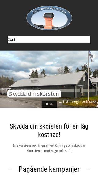 Mobile preview of skorsten.nu